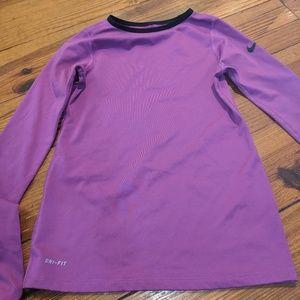 Nike pro shirt for girls
